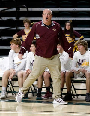 Berne Union's Matt Little was the Division IV District 11 Boys Basketball Coach of the Year.