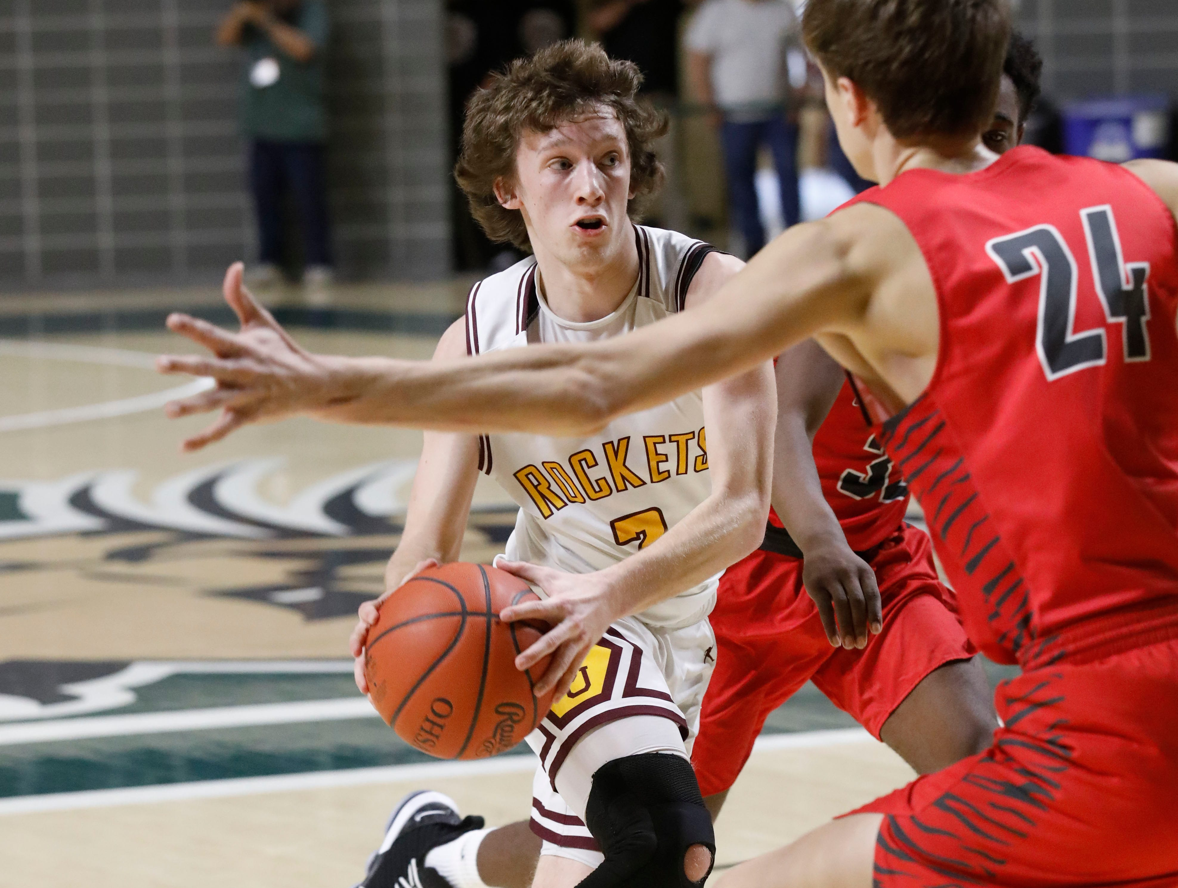 Berne Union lost to Glenwood 69-64 in a Division IV Regional Semifinal game at the Ohio University Convocation Center in Athens.