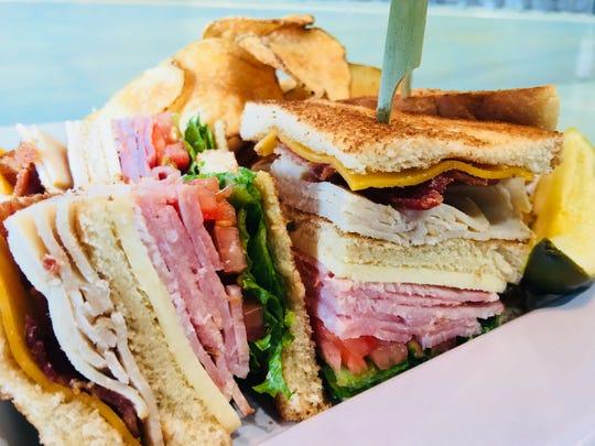 A deli sandwich