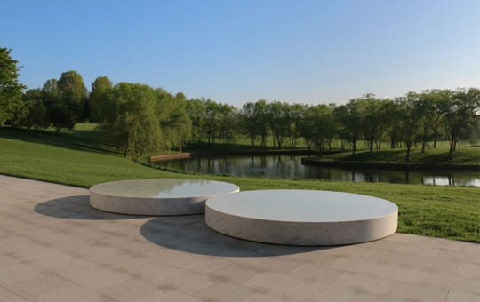 The expansive grounds at the Glenstone Museum in Potomac, Maryland.