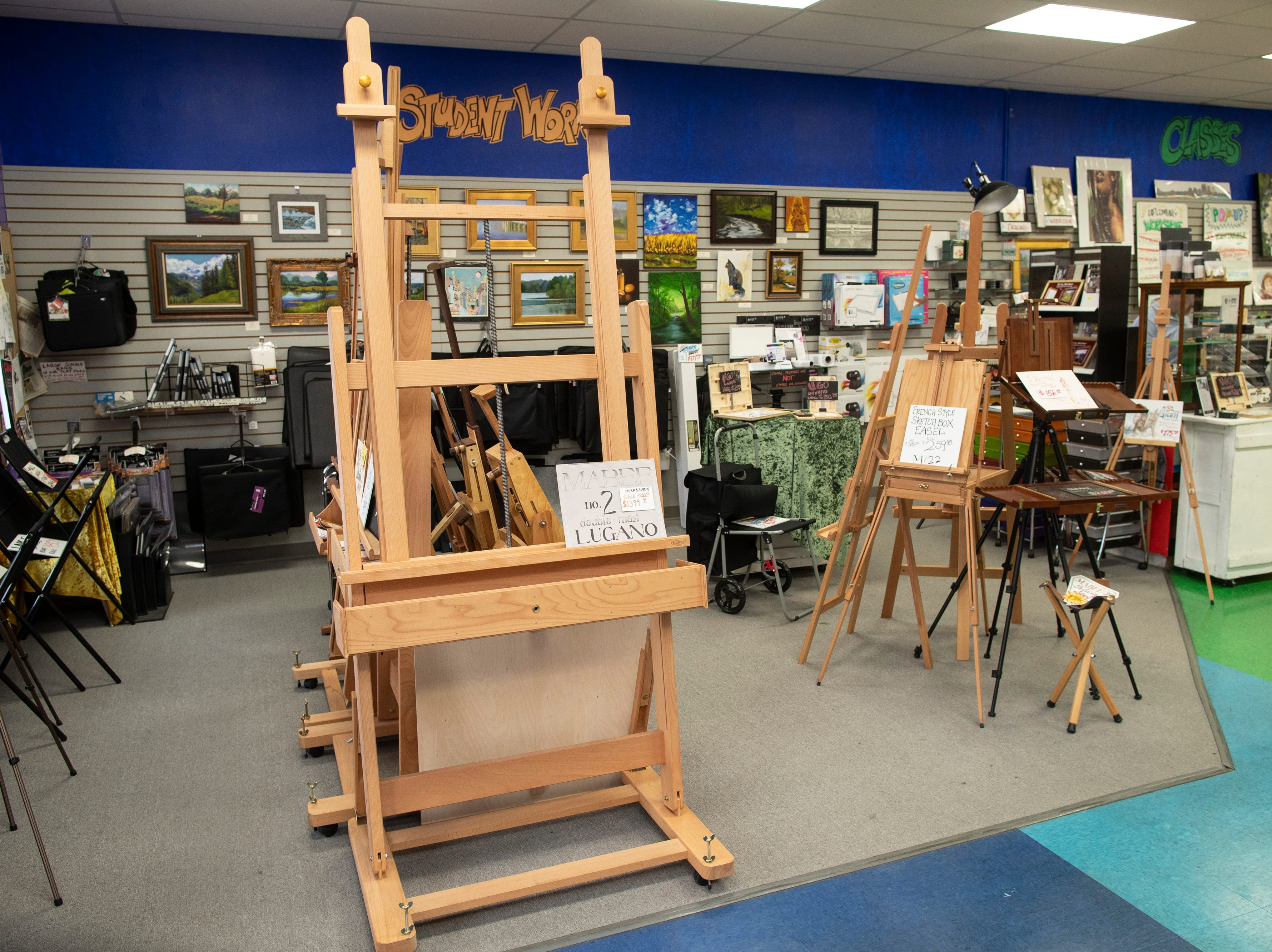 Items for sale inside the Preston Arts Center store on Bardstown Road. In June a new store is planned to open in Jeffersonville, Indiana. March 12, 2019