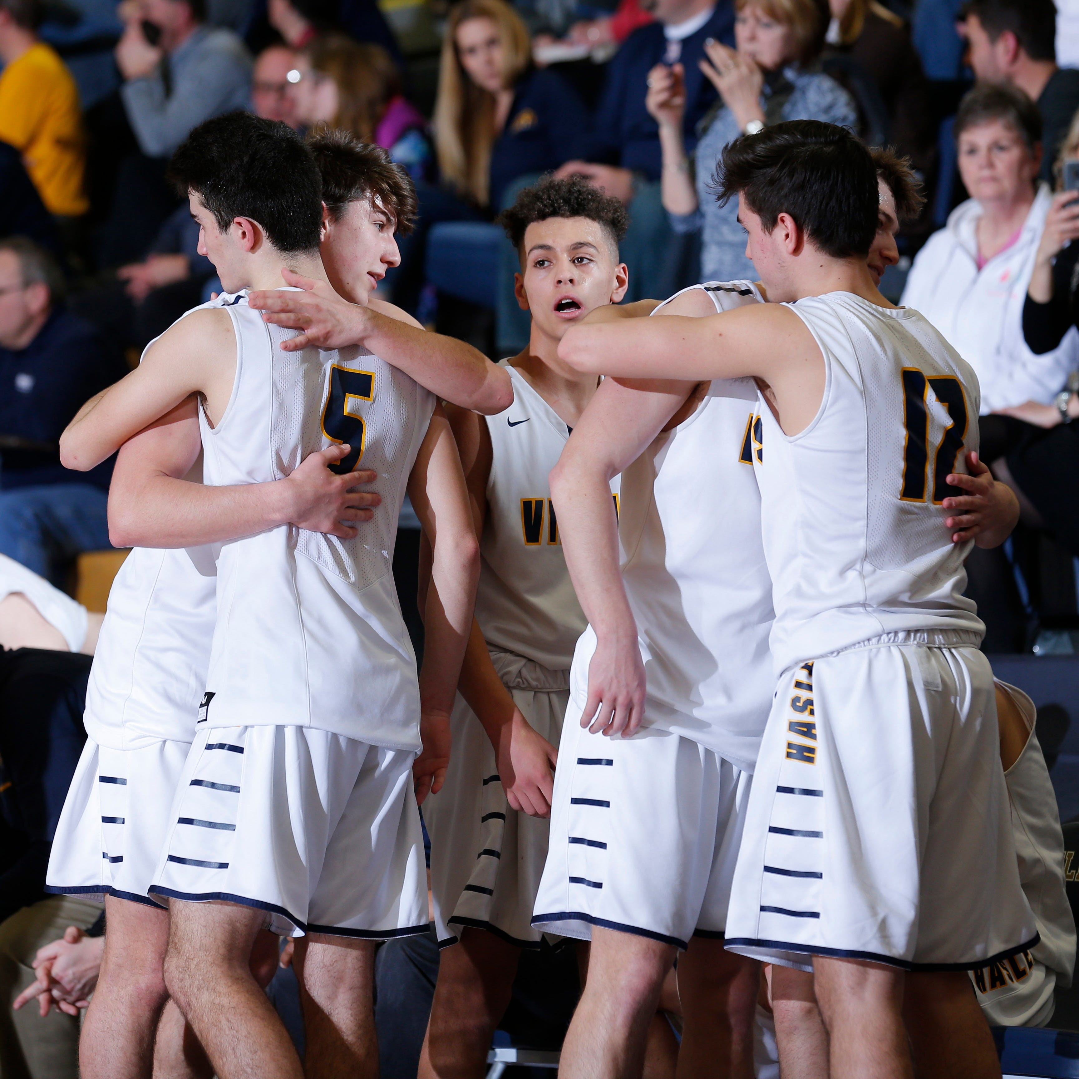 Despite state quarterfinal loss, it's been an 'awesome ride' for Haslett basketball