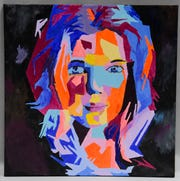"""Blue Girl"" is the work of Scott Presley of Mount Vernon."