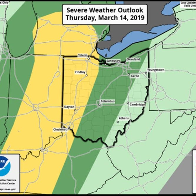 Rain, heat, possible tornadoes in the forecast for Thursday