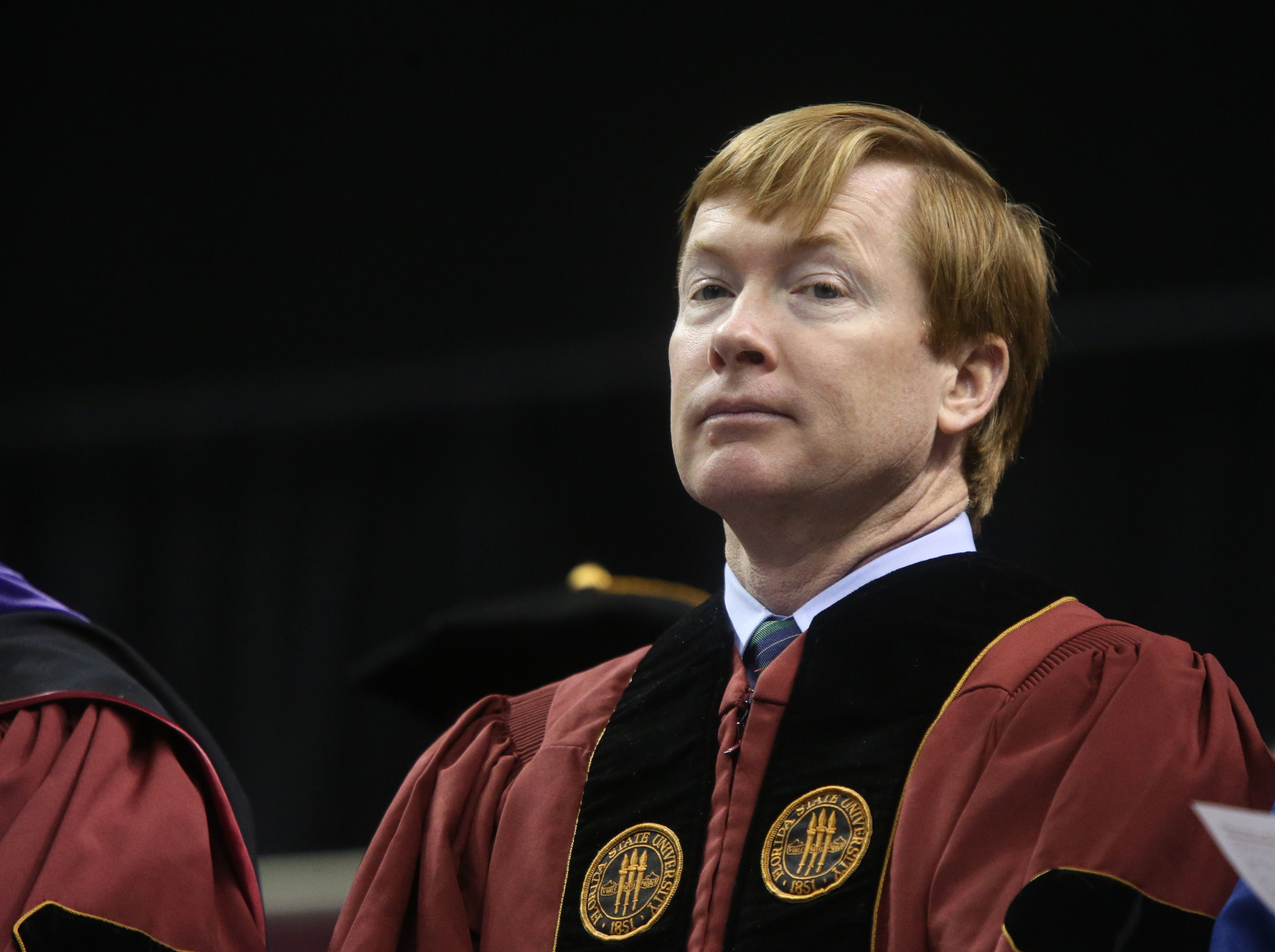 Florida Department of Agriculture Commissioner Adam Putnam delivered the convocation address at Florida State's New Student Convocation Ceremony.