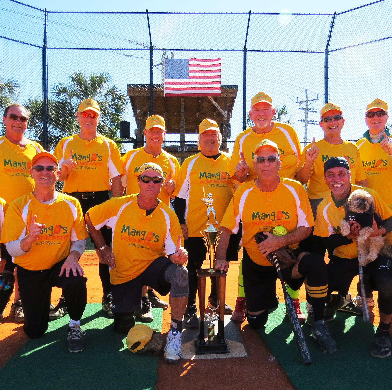 Senior Softball: Mango's are Marco division champions