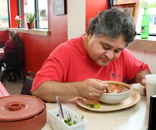 Menudo, the spicy Mexican soup than contains tripe, is a favorite among regulars at Chilango Express, 6821 W. Lincoln Ave., West Allis.
