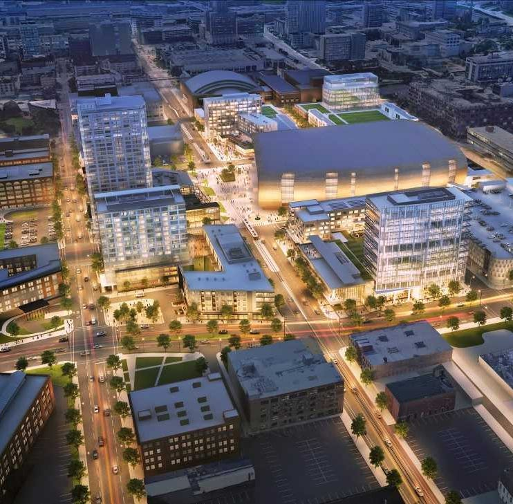 Hotels, apartments, offices and a movie theater: Here's what could be next for Milwaukee Bucks arena complex