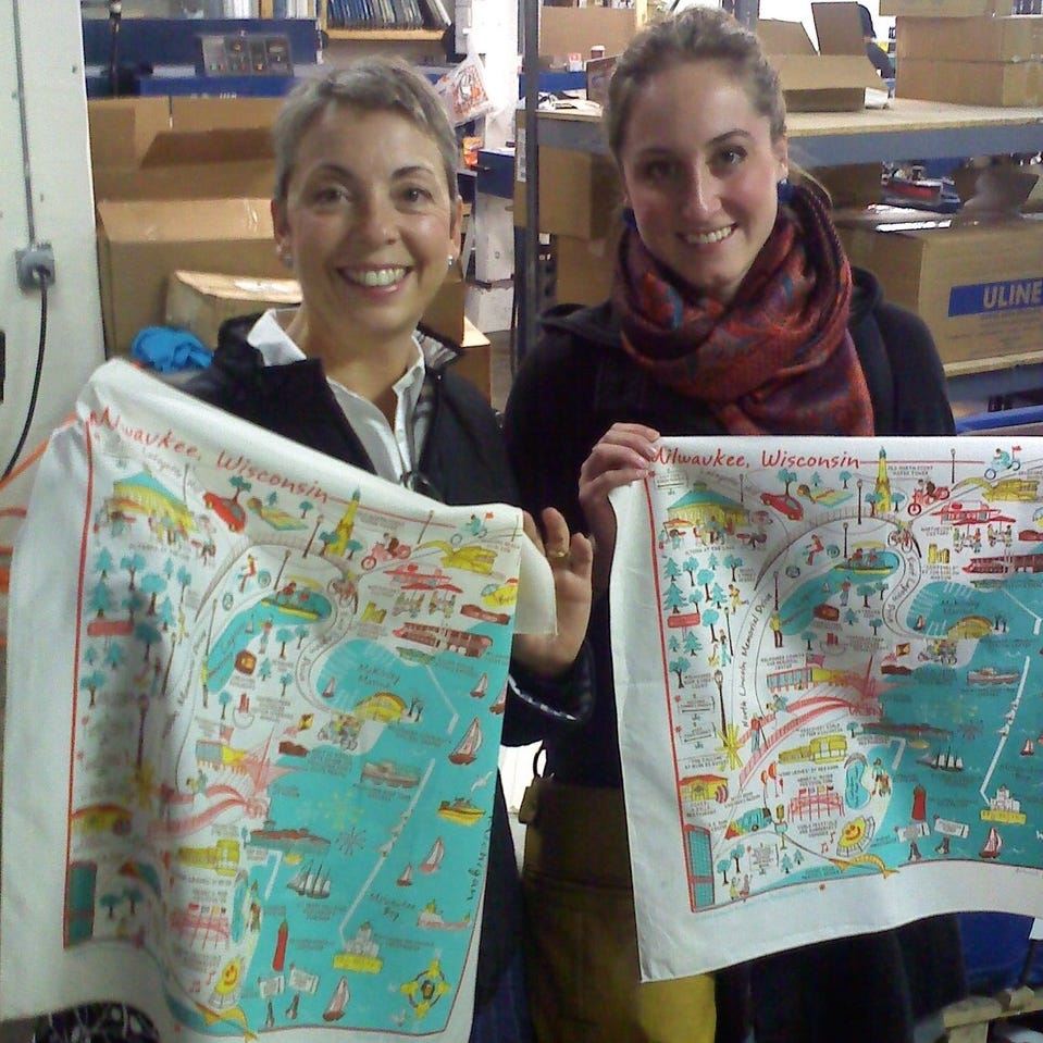 These cousins turned an idea for a souvenir Milwaukee map into a South Milwaukee business