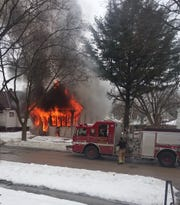 A house fire near North 39th Street and West Silver Spring Drive on Wednesday claimed the lives of two people.