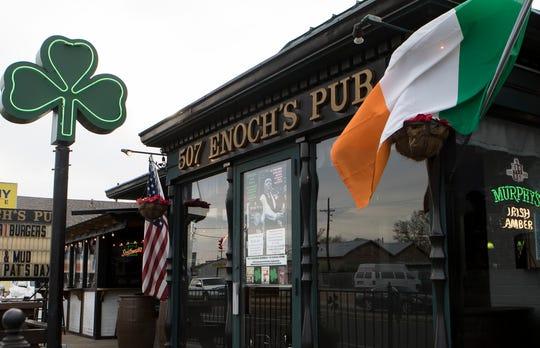 Enoch's Irish Pub in Monroe, La.  will host their annual St. Patrick's celebrations on Sat. March 16
