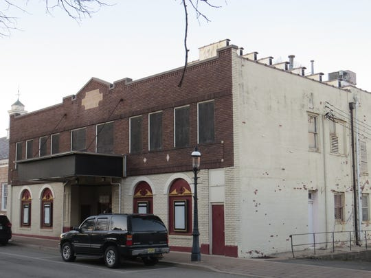 The shuttered Madison Theatre, March 12, 2019.