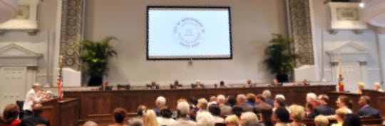 Montgomery City Council meets in this file photo.