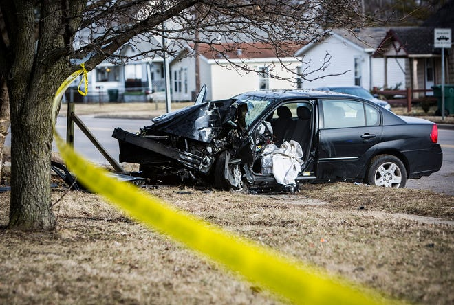 A woman was critically injured Tuesday after being involved in two crashes on West Memorial Drive at around 3:15 p.m. Tuesday. The woman struck a vehicle while traveling near Batavia Avenue before striking a tree along Memorial. The driver was flown by air ambulance to an Indianapolis hospital after being extricated from her vehicle. The cause of the crash is still under investigation.