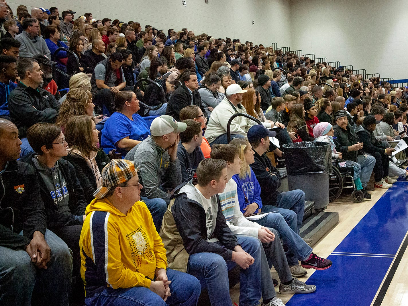 Rockvale High School open house was held March 7, 2019, at Rockvale Middle. It was a standing-room-only crowd.