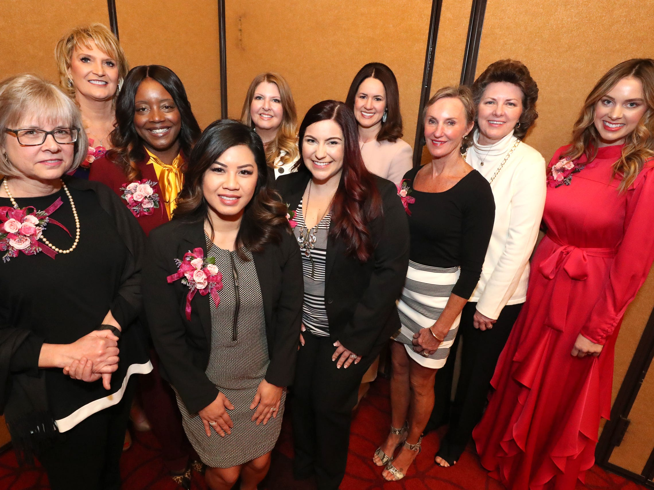 Ten women were recognized by Murfreesboro Magazine during the 2019 Women in Business Luncheon on Tuesday, March 12, 2019, at the Embassy Suites Murfreesboro