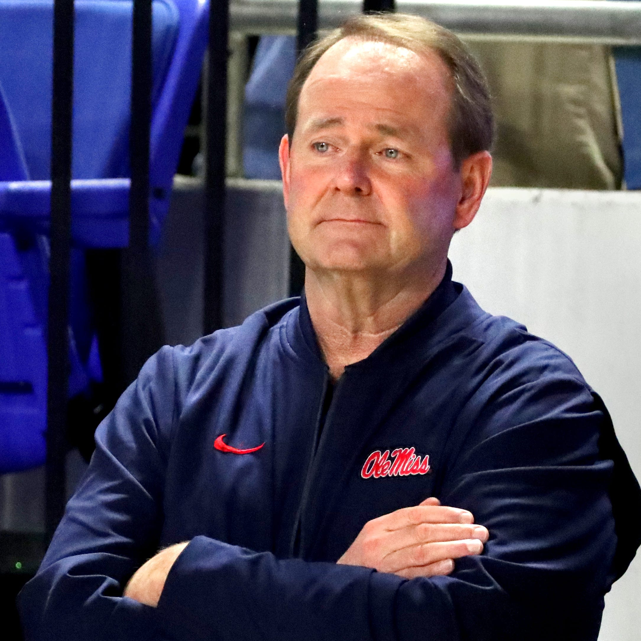 Look who's here: Ole Miss coach Kermit Davis attends TSSAA basketball state tournament at MTSU