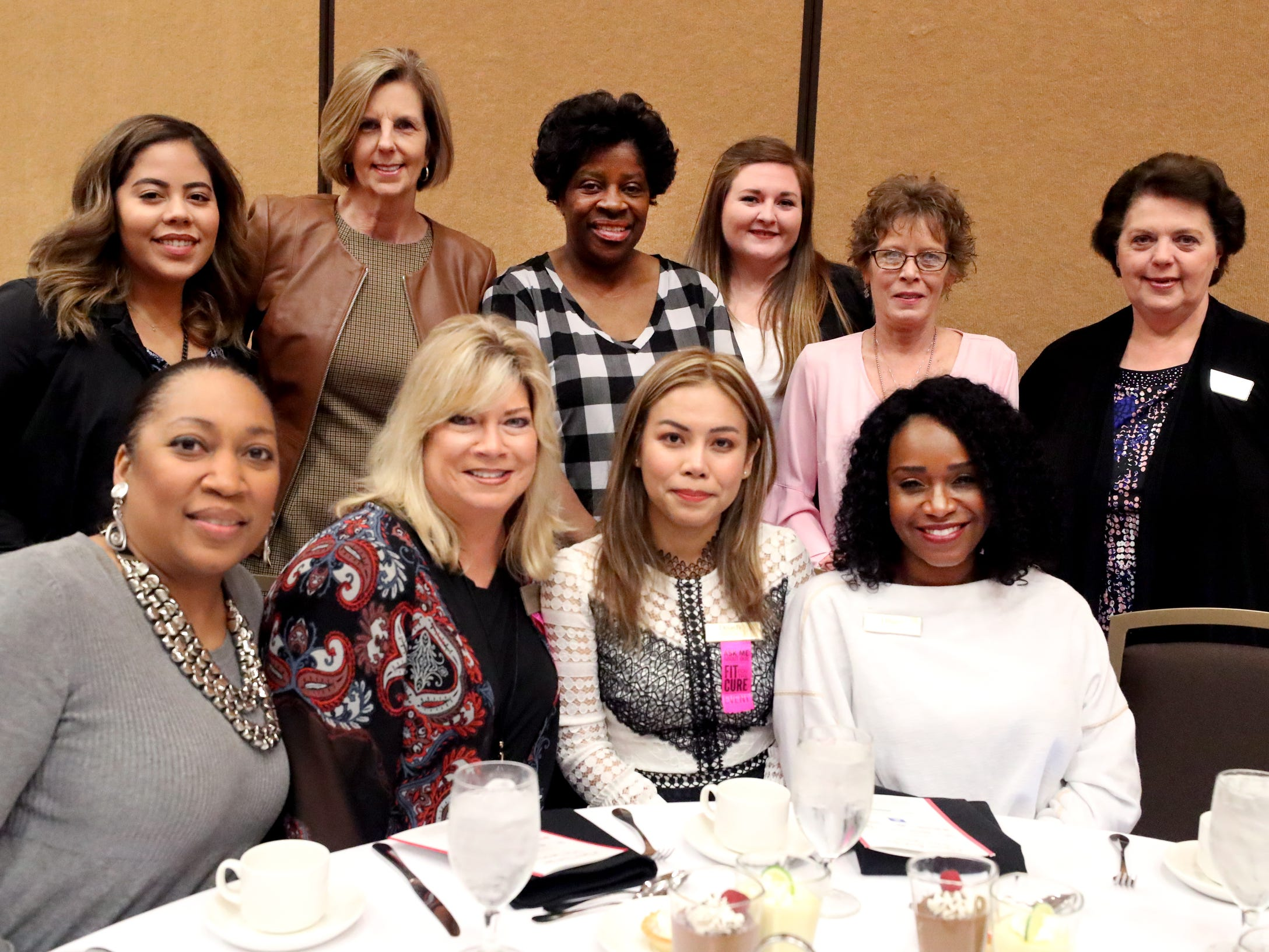 The Dillard's table M at Murfreesboro Magazine's 2019 Women in Business Luncheon on Tuesday, March 12, 2019, at the Embassy Suites Murfreesboro.