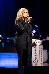 Trisha Yearwood celebrates her 20th anniversary as a member of the Grand Ole Opry on March 12, 2019.
