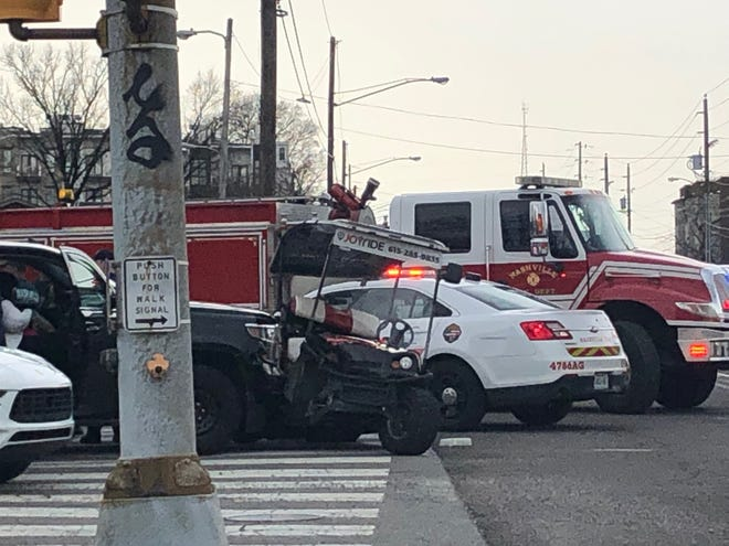 Joyride Nashville crash on March 13, 2019.