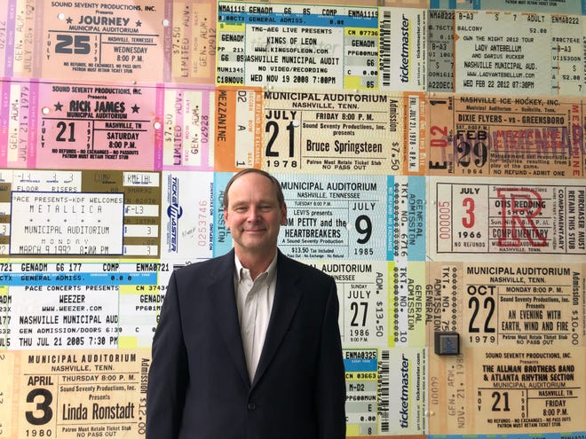 Bob Skoney is retiring as General Manager of Nashville Municipal Auditorium after more than 40 years with the venue.