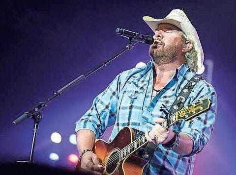 Toby Keith performs March 22, 2019, in Kissimmee.
