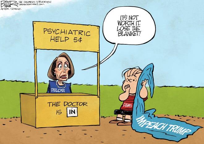 pelosi impeach cartoon