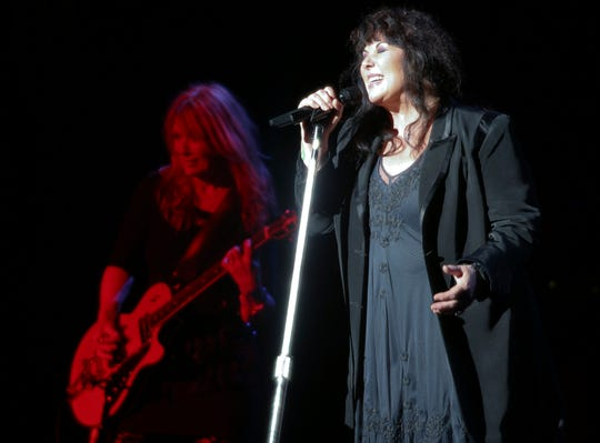 The rock band Heart brought its memorable hits and new material to the Barbara B. Mann Performing Arts Hall in Fort Myers a few years ago.