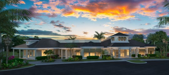 The WildBlue clubhouse features indoor, as well as outdoor dining.