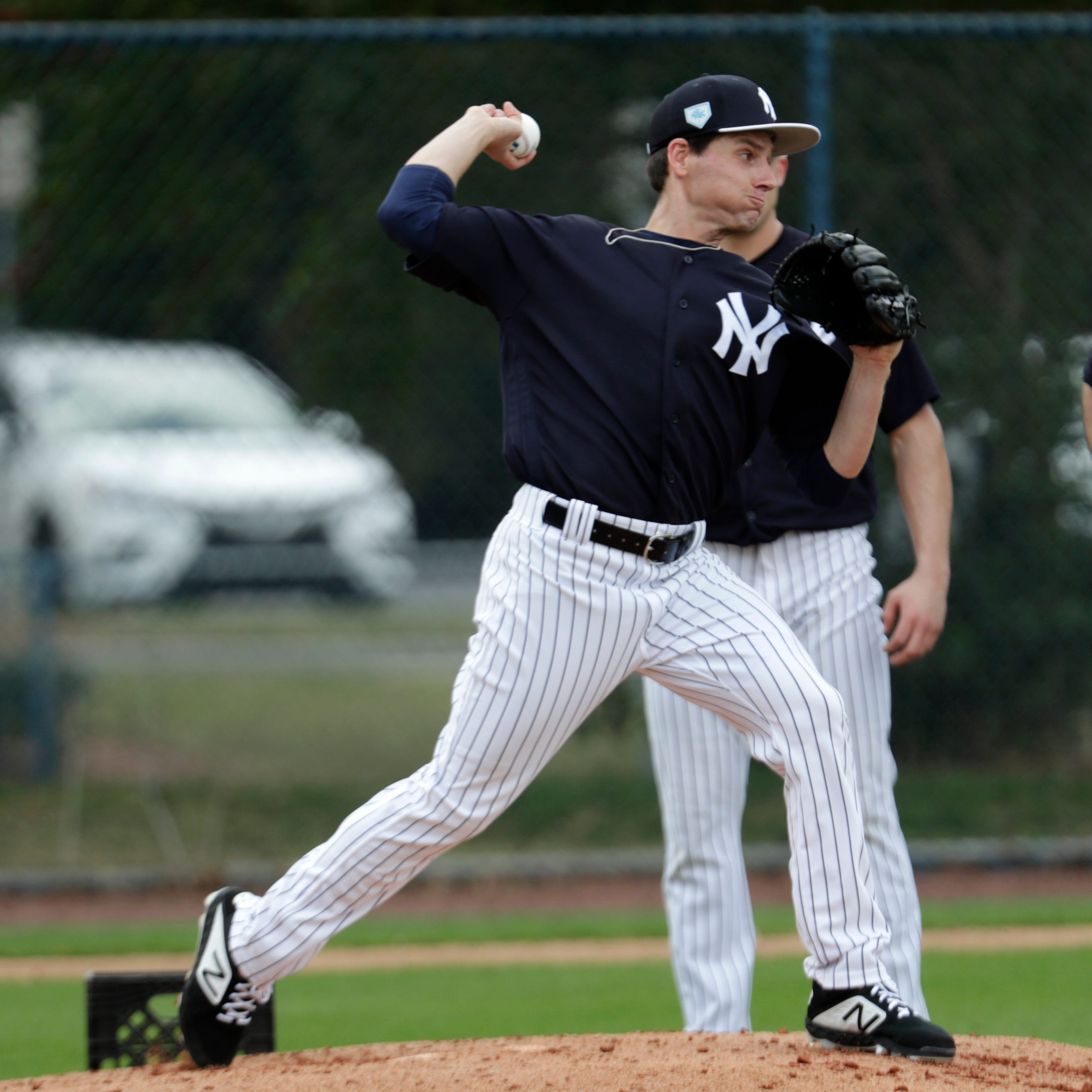 New York Yankees will keep Danny Farquhar at extended spring training
