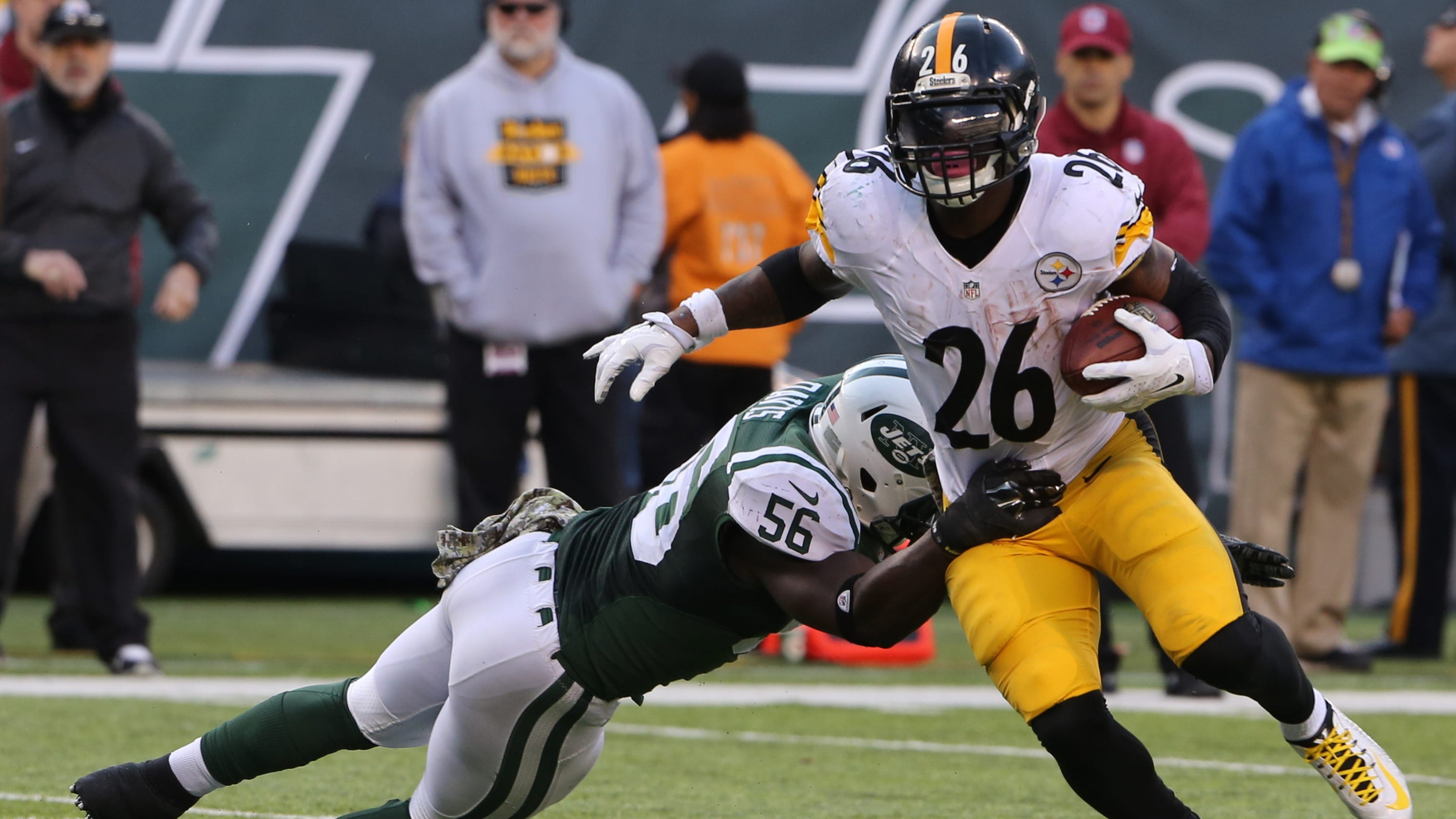 25896823d1e Le Veon Bell signing  Reaction to NY Jets  big move