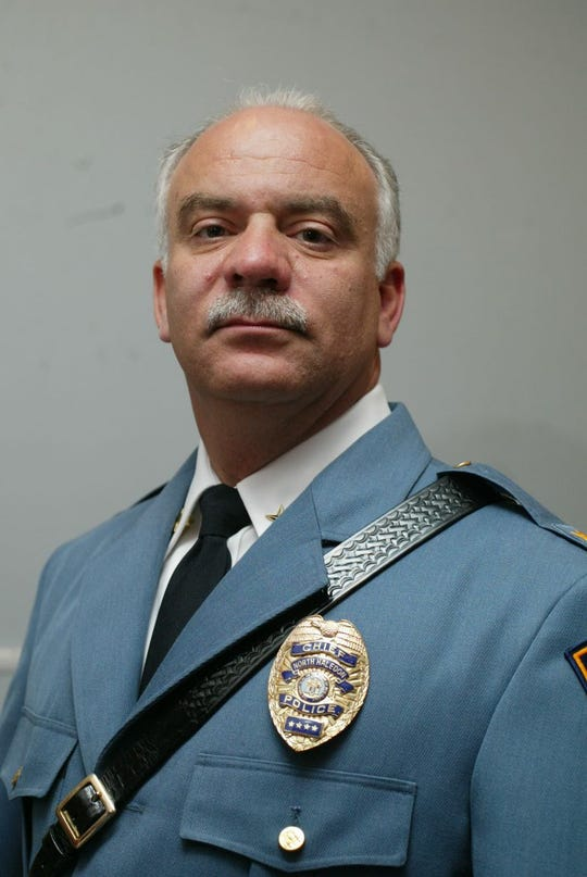 Outgoing North Haledon Police Chief Robert Bracco.