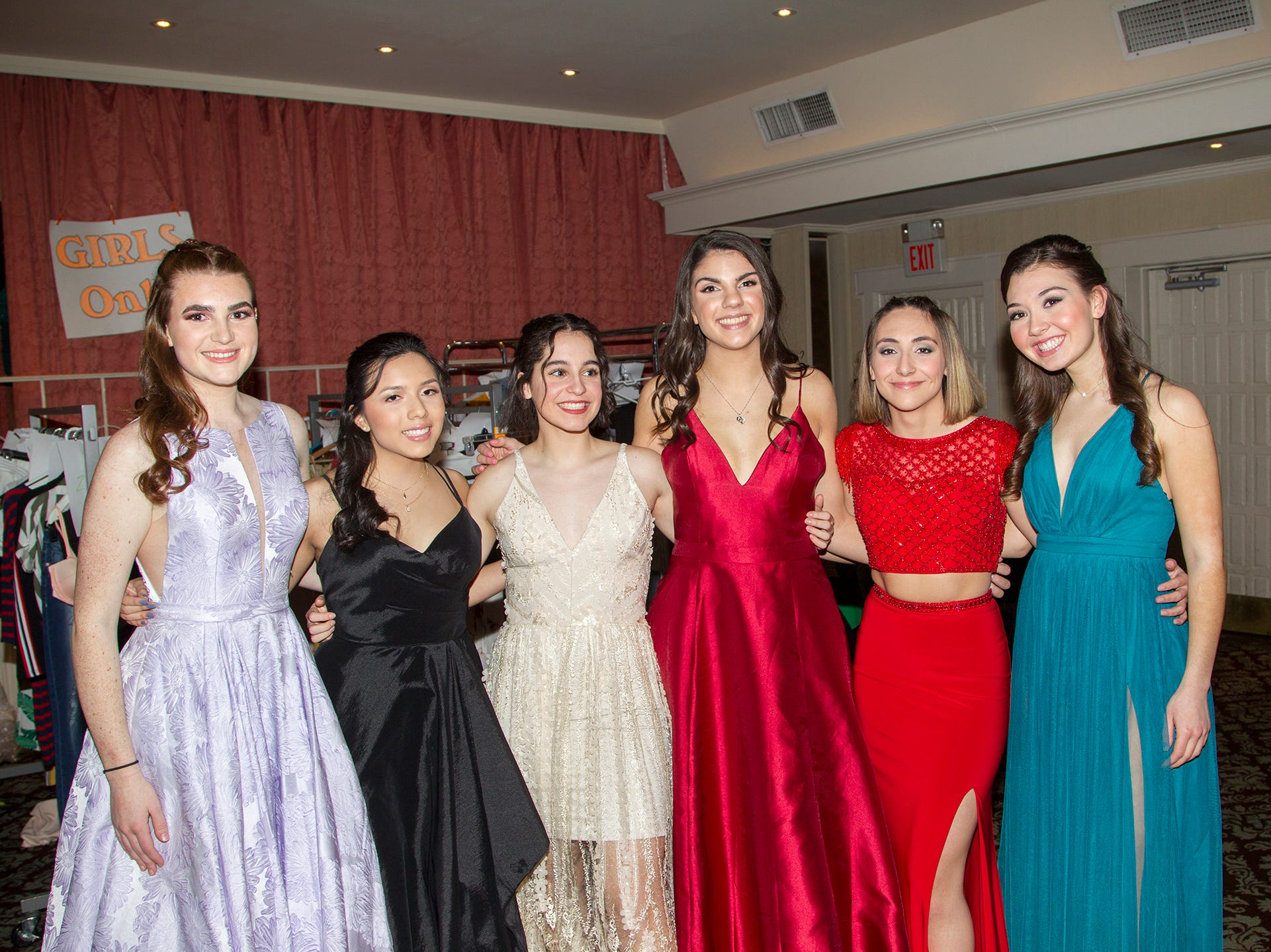 Lyndhurst High School seniors held their 2019 Project Graduation fashion show at The Fiesta in Wood-Ridge. 03/12/2019