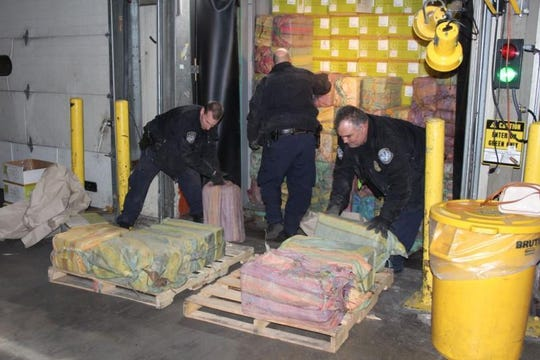 Cocaine found in a shipping container at Port Newark on February 28