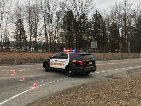 A serious crash in Ringwood has shut down a section of Greenwood Lake Turnpike near Skyline Drive Wednesday, authorities said.