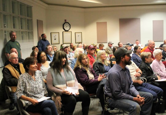 A standing-room only crowd was in attendance at the regular Alamogordo City Commission meeting Tuesday where they became a Second Amendment Sanctuary City.