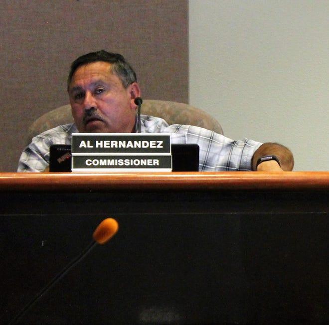 Alamogordo City Commissioner Al Hernandez