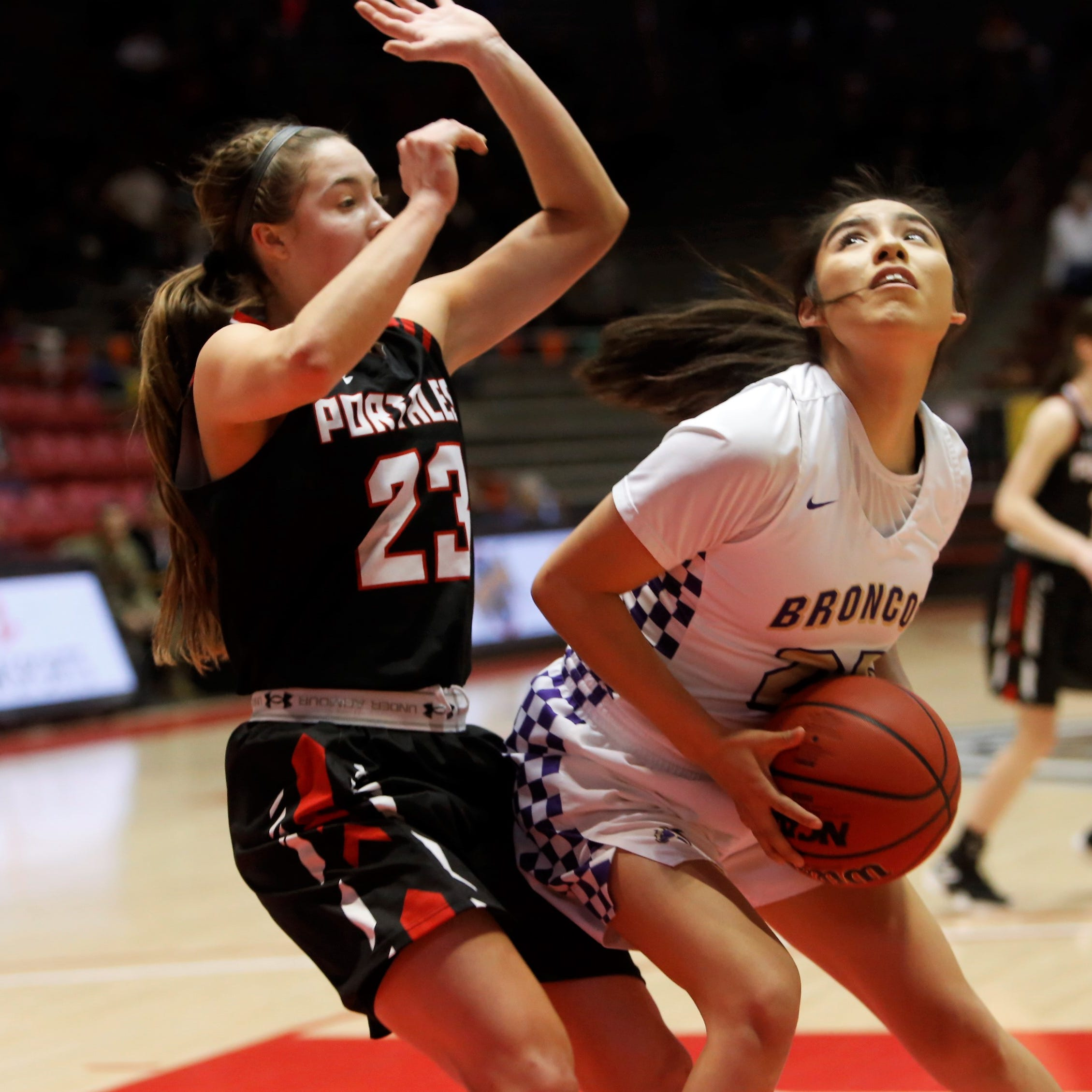 Lady Broncos coast into 4A semifinals