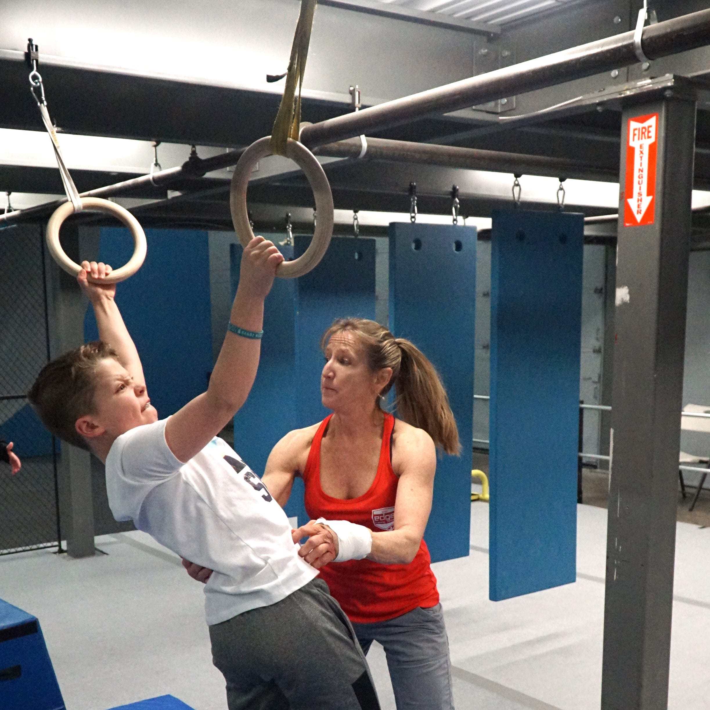 Ninja warrior training facility opens in Plymouth