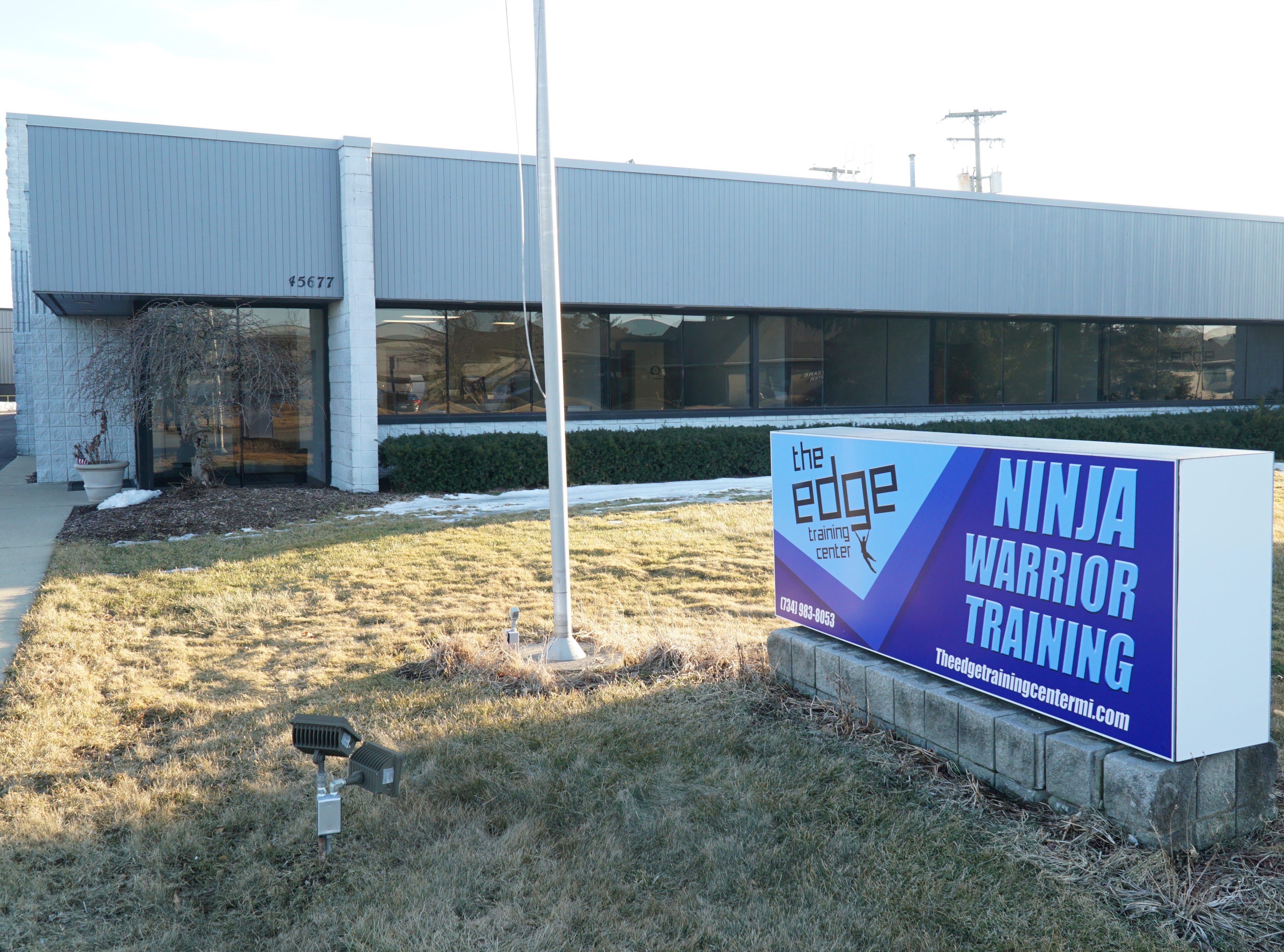 The Edge Training Center on Helm Street in Plymouth.