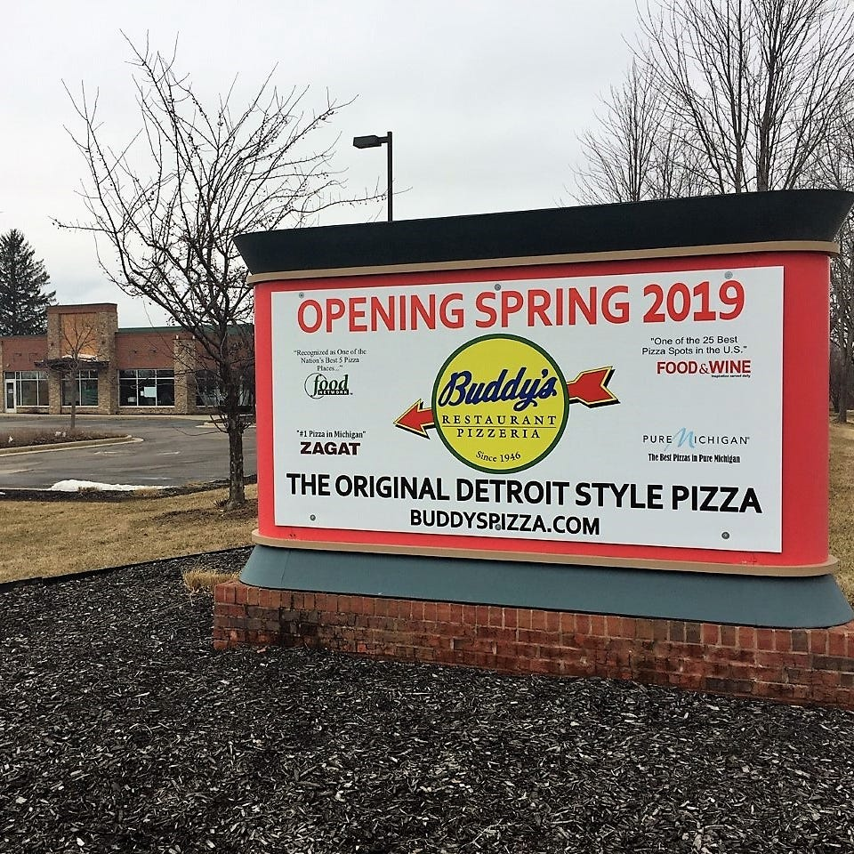 Plymouth Township latest site of Buddy's Pizza expansion