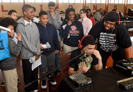 St. Landry Parish students attend Career Day held at Washington Elementary of Friday, March 8.