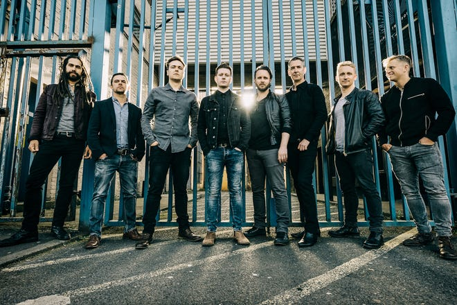 The Scottish award-winning band, Skerryvore, is a fusion of rock, pop and traditional music. They will perform at Thrasher Opera House on March 23.