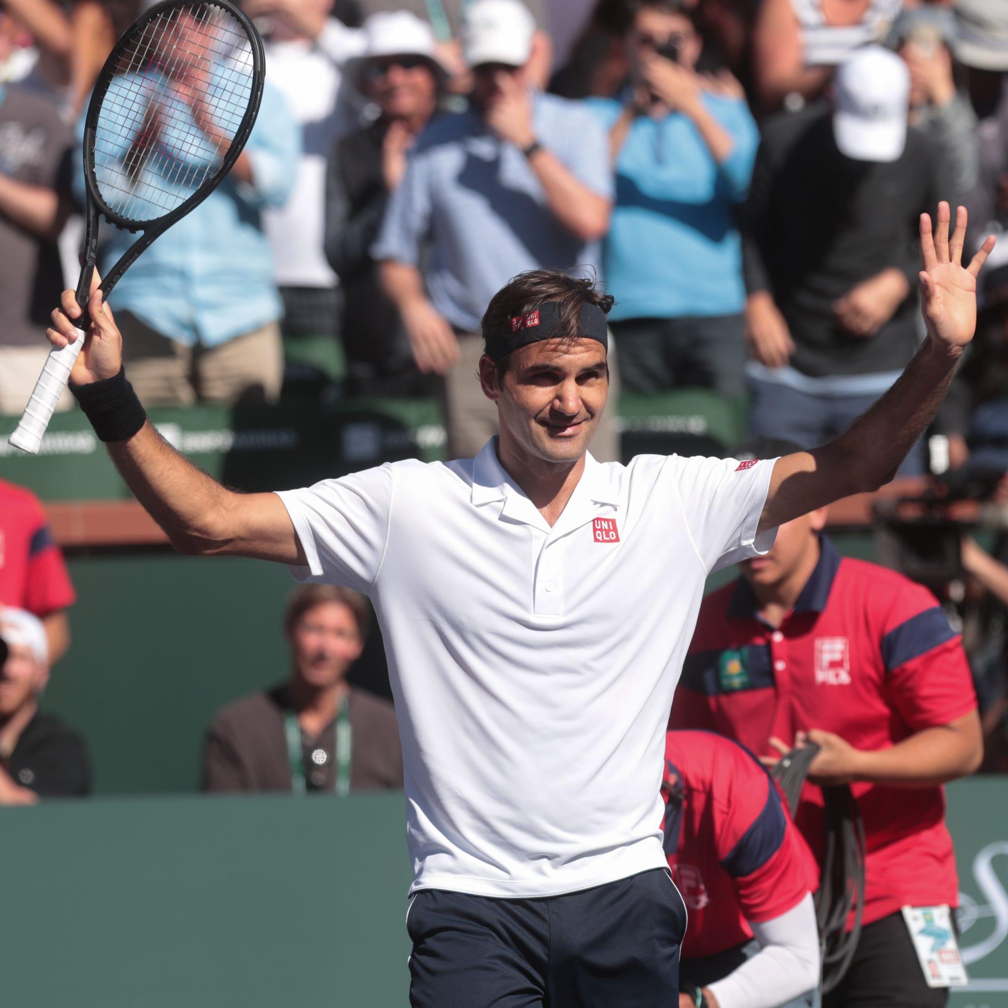 Roger Federer cruises over Kyle Edmund, eyes more history at Indian Wells