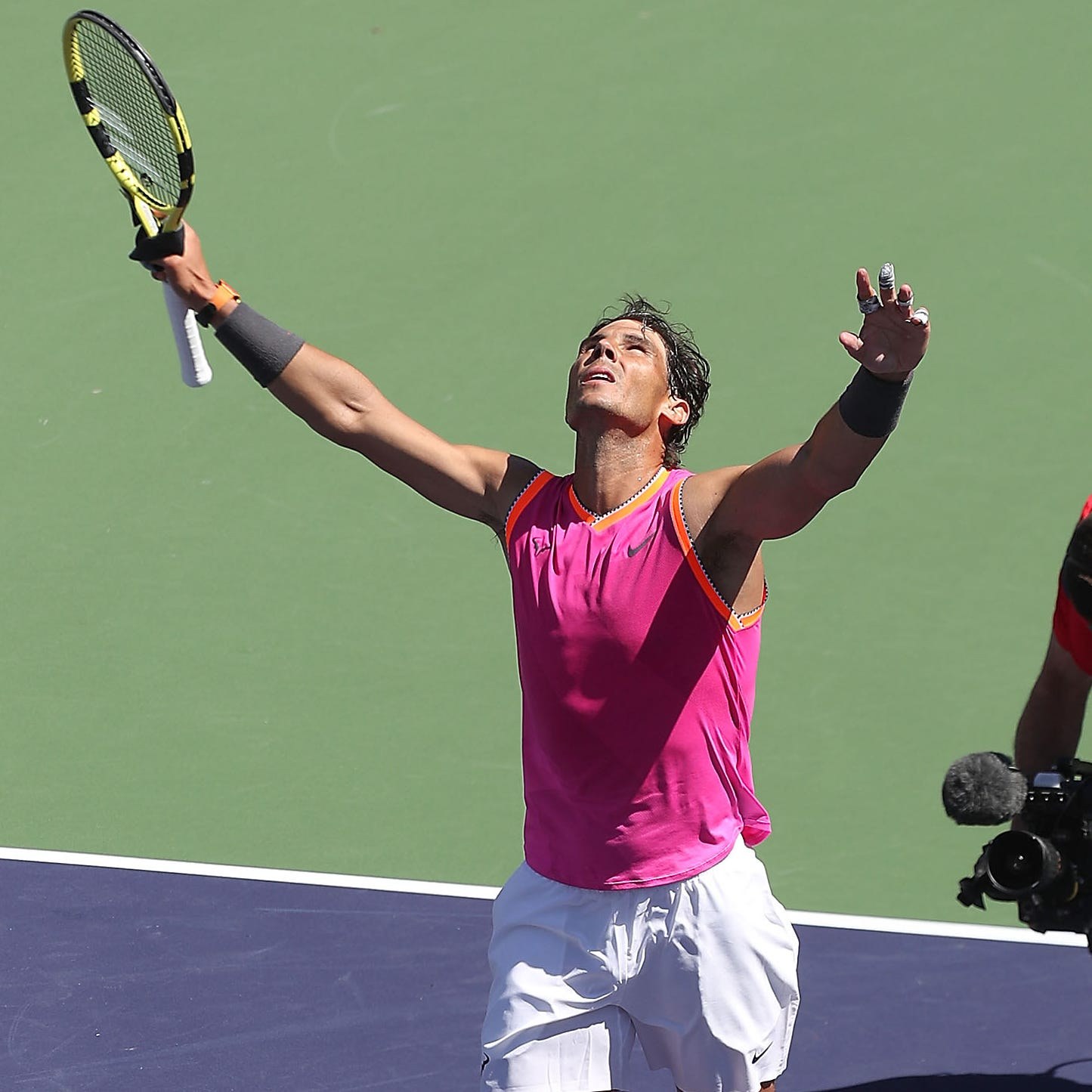 Rafael Nadal fights off injury to win, set up meeting against Roger Federer in Indian Wells semifinal
