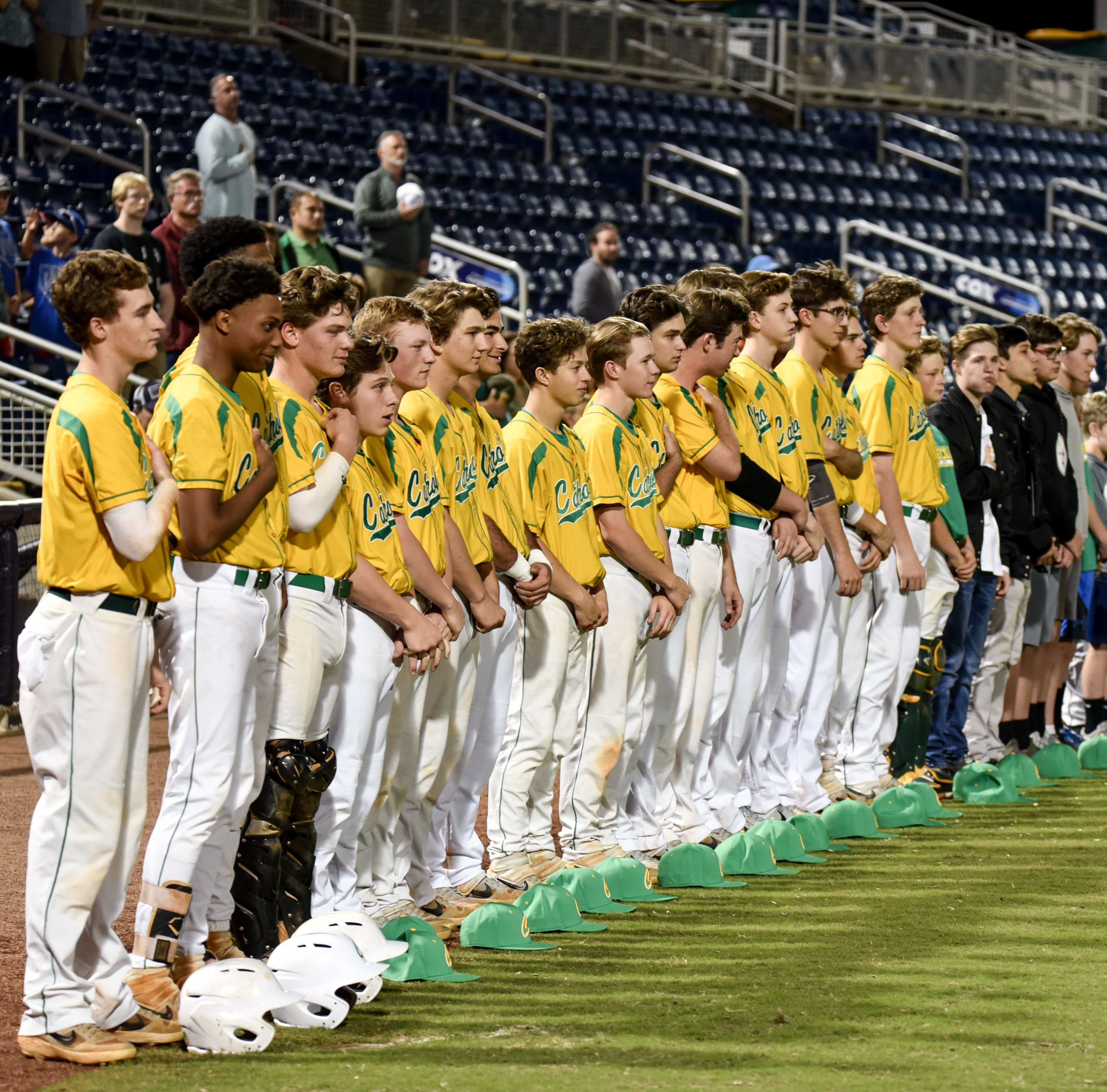 Catholic baseball remains perfect in district play in Saturday win over Florida High