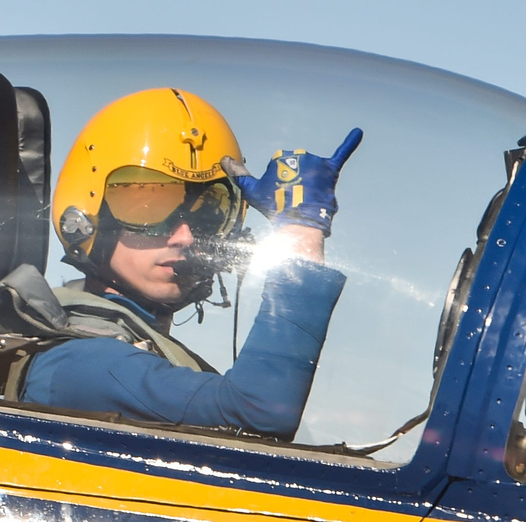 New Blue Angels pilot on return to Pensacola: 'I cannot wait to get back there'