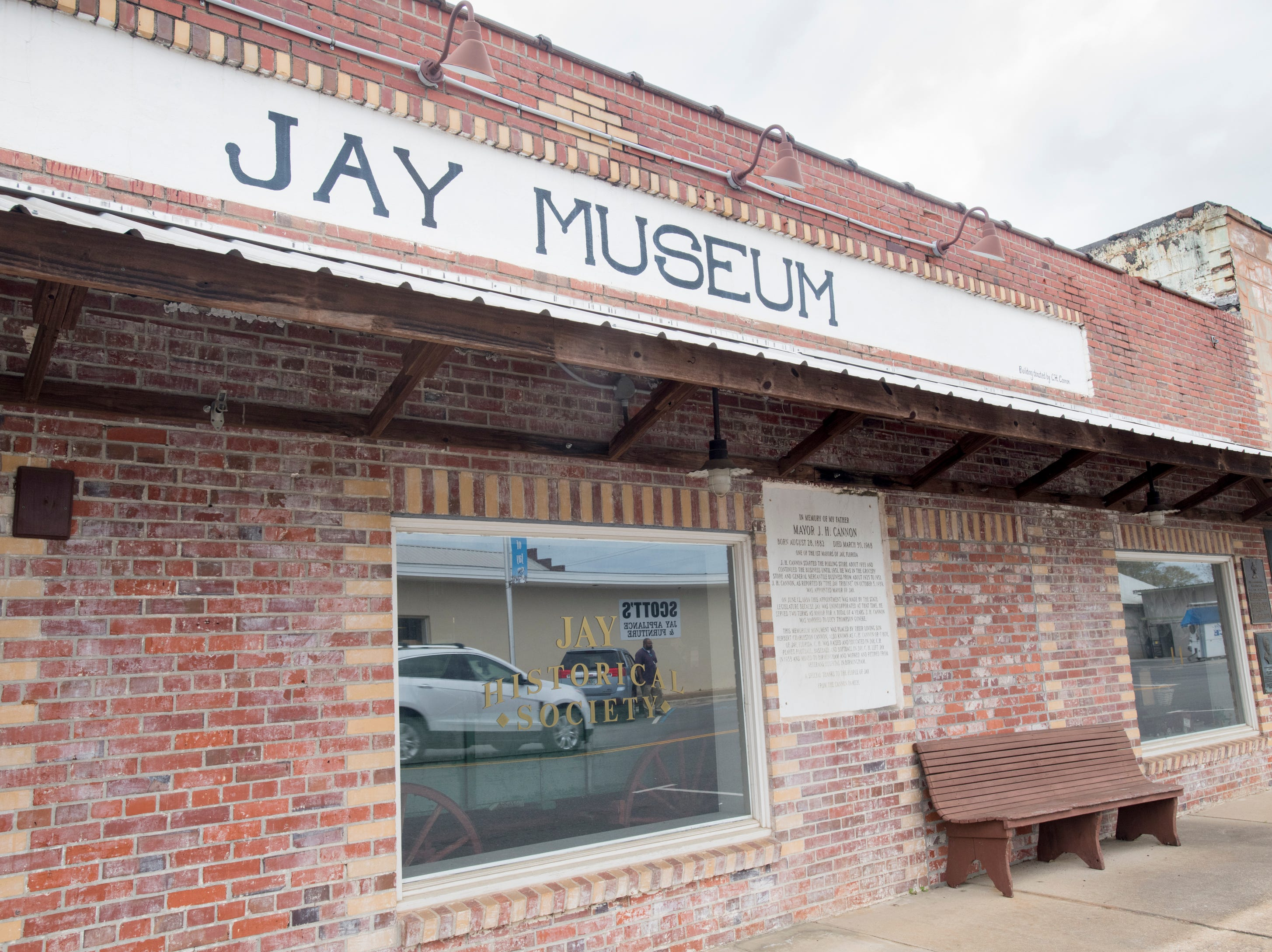 Museum in Jay, Florida on Wednesday, March 13, 2019.  A 2.7  magnitude earthquake was registered in Jay on March 6th.