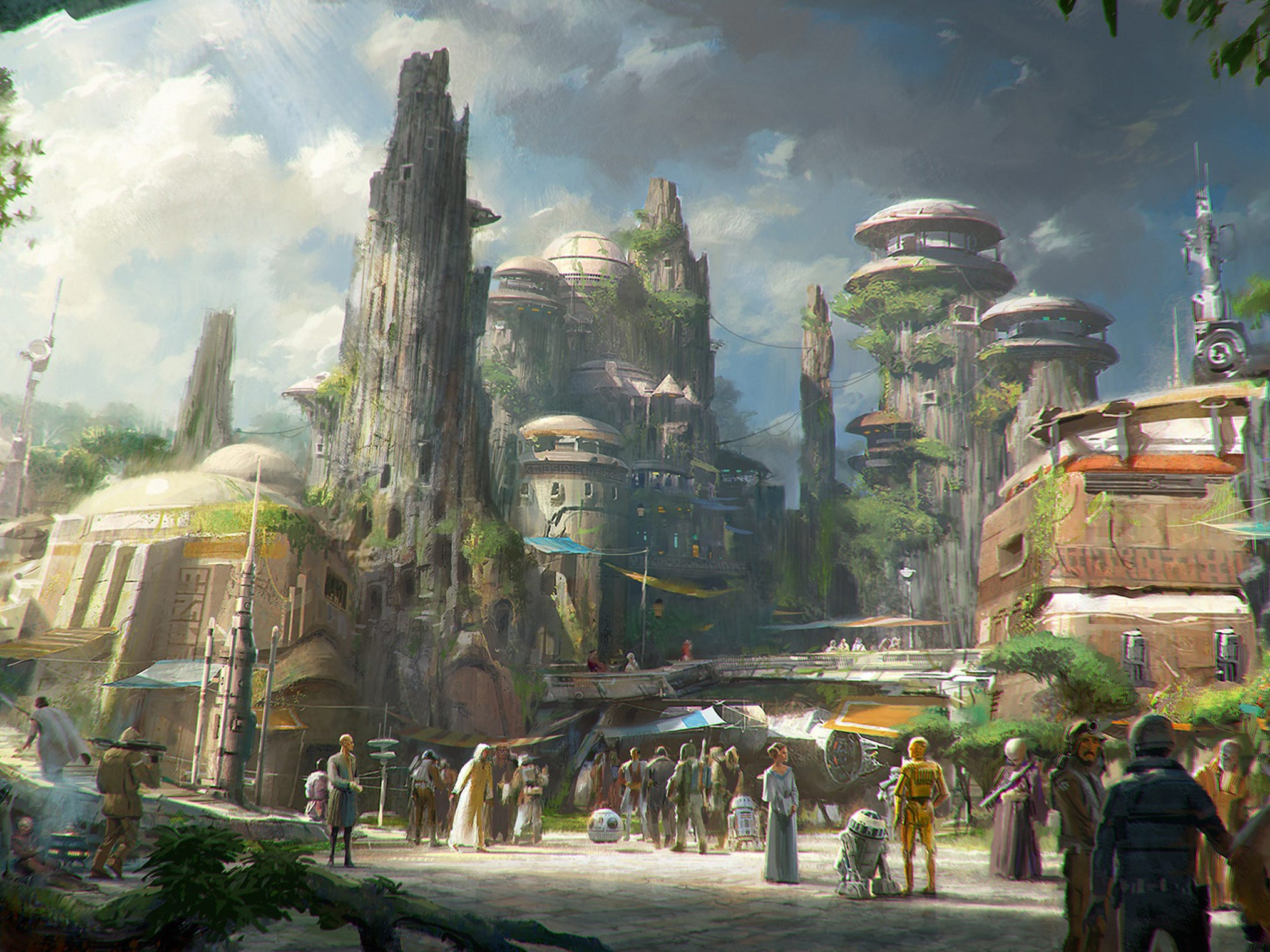 Star Wars: Galaxy's Edge opens May 31, 2019 at Disneyland. Reservations will be needed at least through June 23.