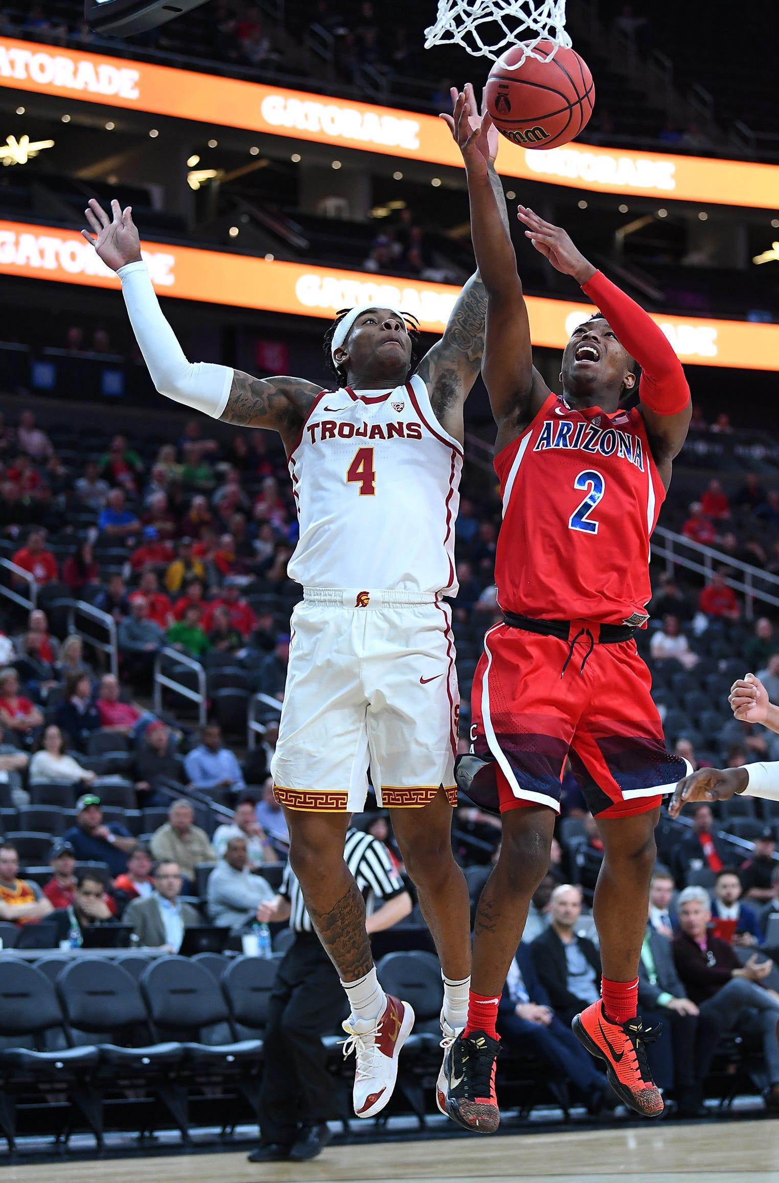 Brandon Randolph Arizona Wildcats Basketball Jersey-Red